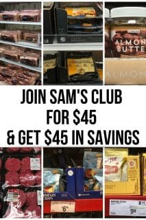 Collage of Keto foods from Sam's Club