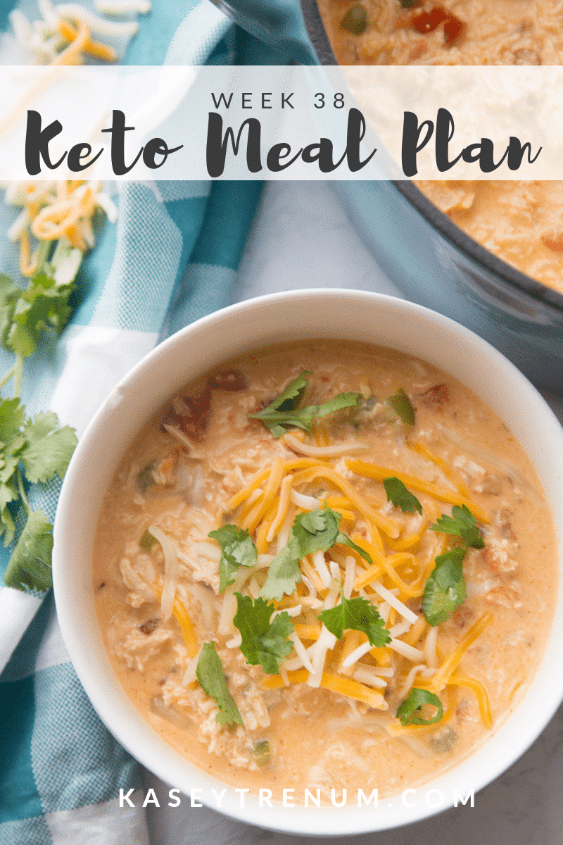 Keto Meal Plan and Recipes: Week 38