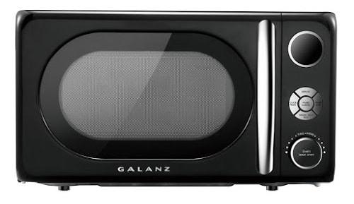 Black Galanz Microwave