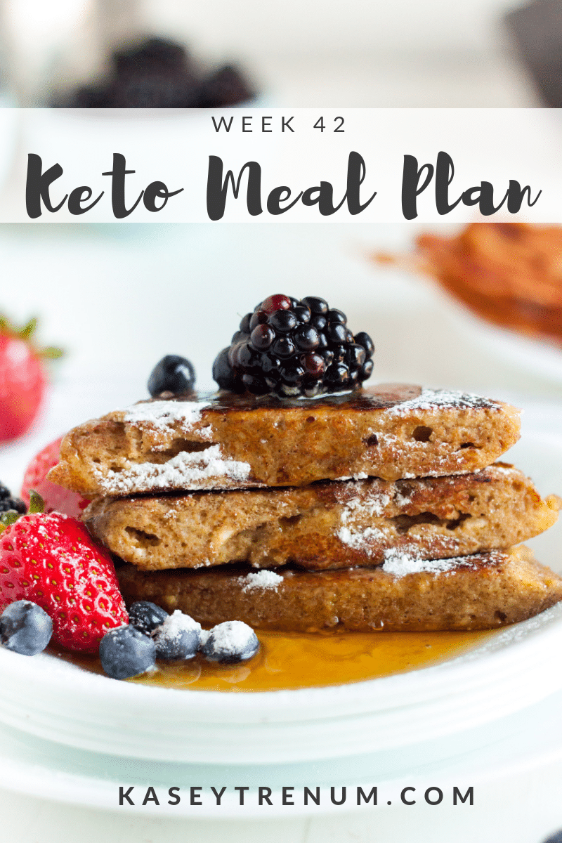 Keto Diet Plan for Beginners: Meal Plan Week 42