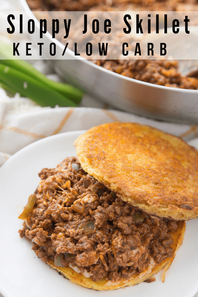 This Keto Sloppy Joe Skillet recipe is delicious, simple and certain to have your family loving it too! #keto #lowcarb