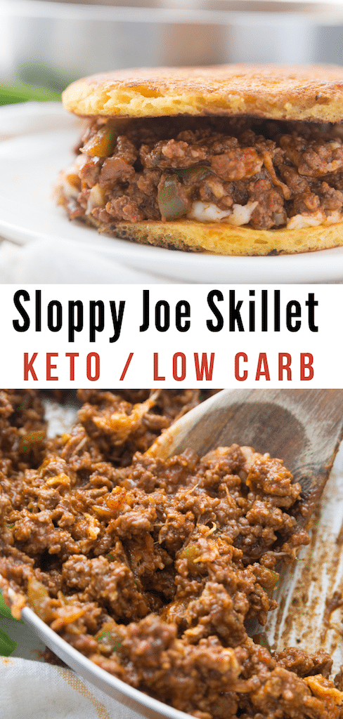 This Keto Sloppy Joe Skillet recipe is delicious, simple and certain to have your family loving it too! The best part? It fits into your keto-lifestyle!