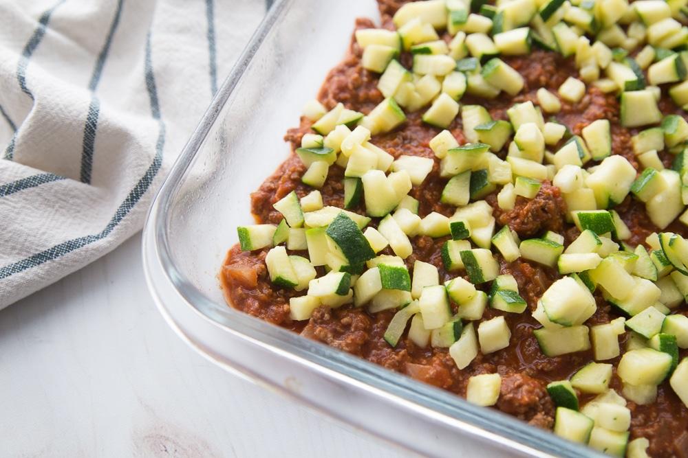 easy keto casserole, low carb casserole, keto lasagna, low carb lasagna