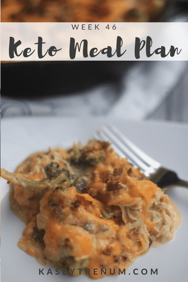 Lazy Keto Meals: Meal Plan Week 46