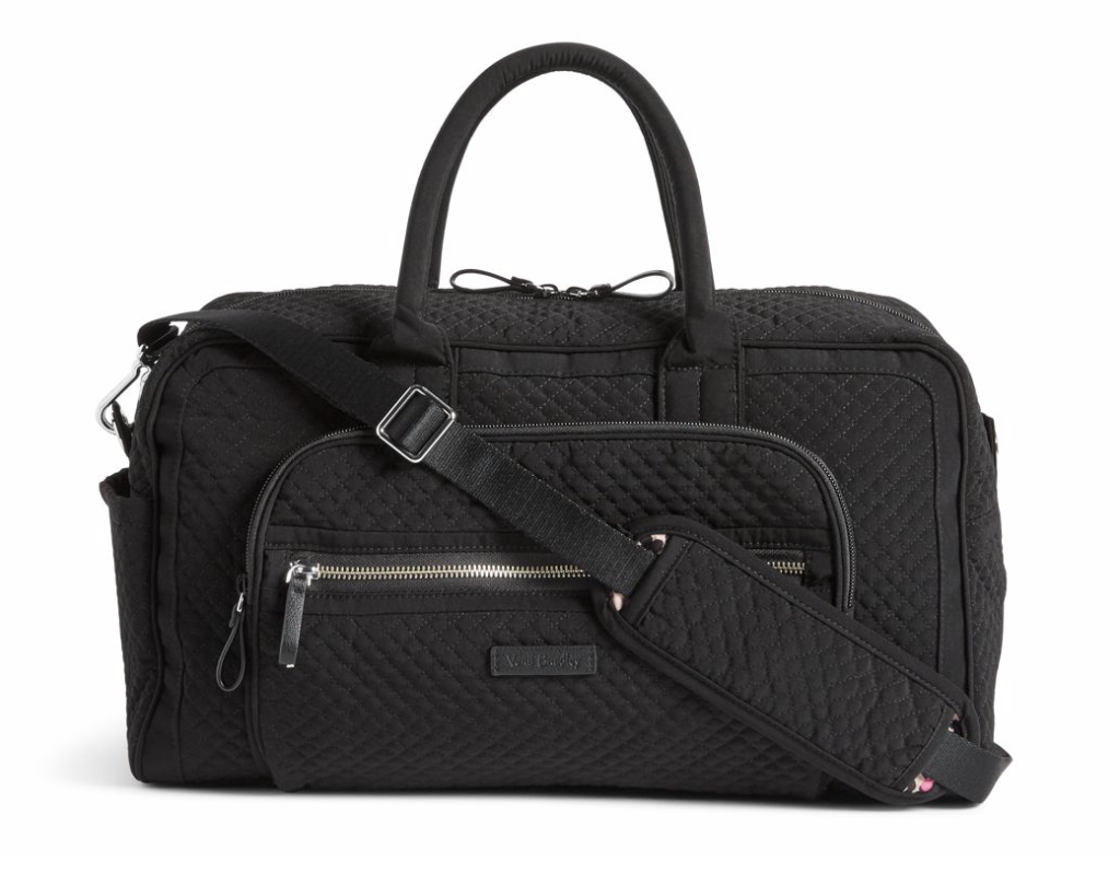 Black Travel Bag with handle