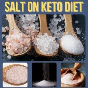 salt on keto diet collage