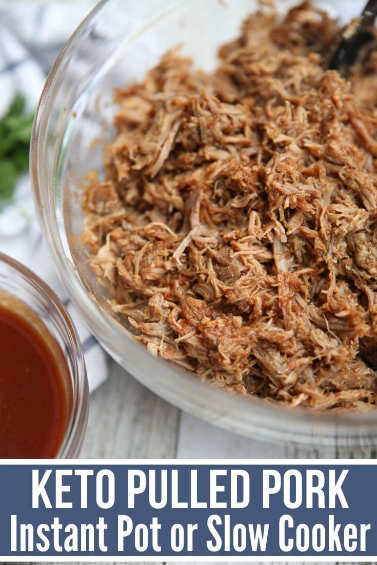 Slow Cooker Keto Pork Carnitas Bowls