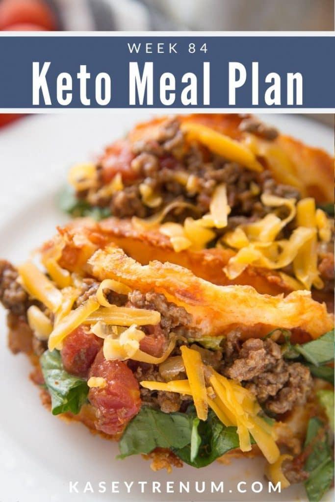 Keto Image of Taco Chaffle Meal Plan