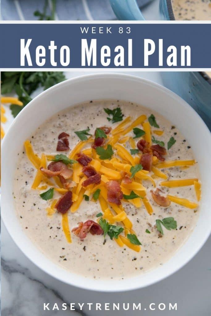 Keto Image of Low Carb Hamburger Soup Meal Plan