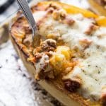 Keto Spaghetti Squash Lasagna
