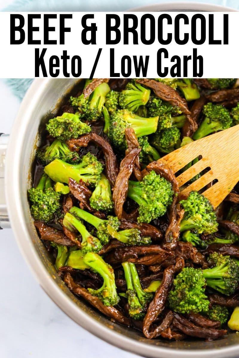 Keto Beef Broccoli Stir Fry Quick Easy Kasey Trenum