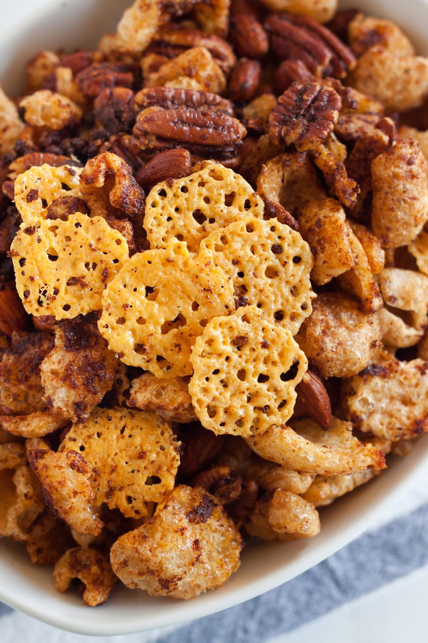 easy snack mix recipe