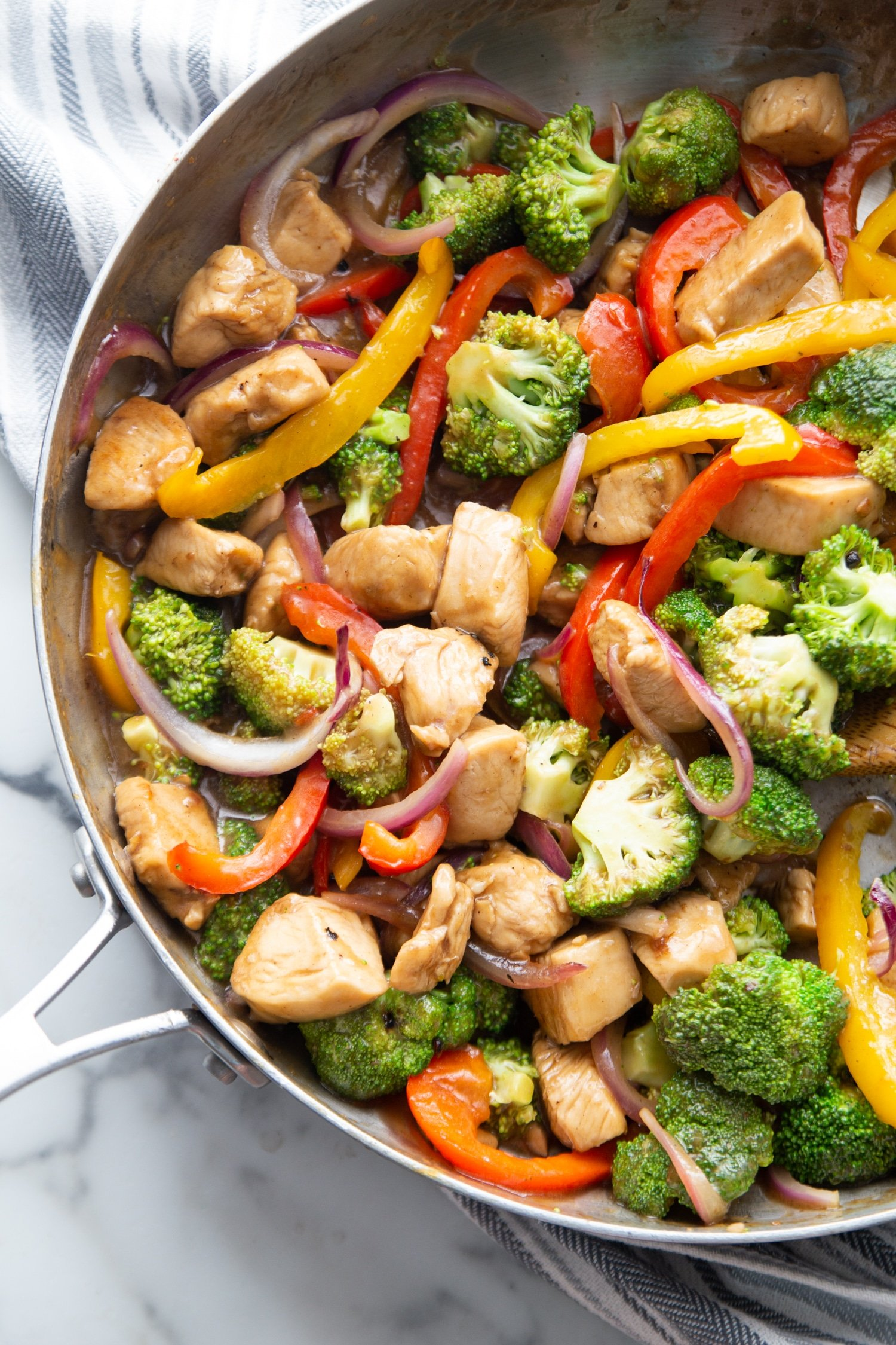 Keto Chicken Stir Fry With Vegetables Kasey Trenum